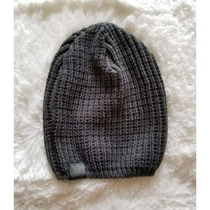 Accessories - Gray Chunky Knit Crochet Winter Hat